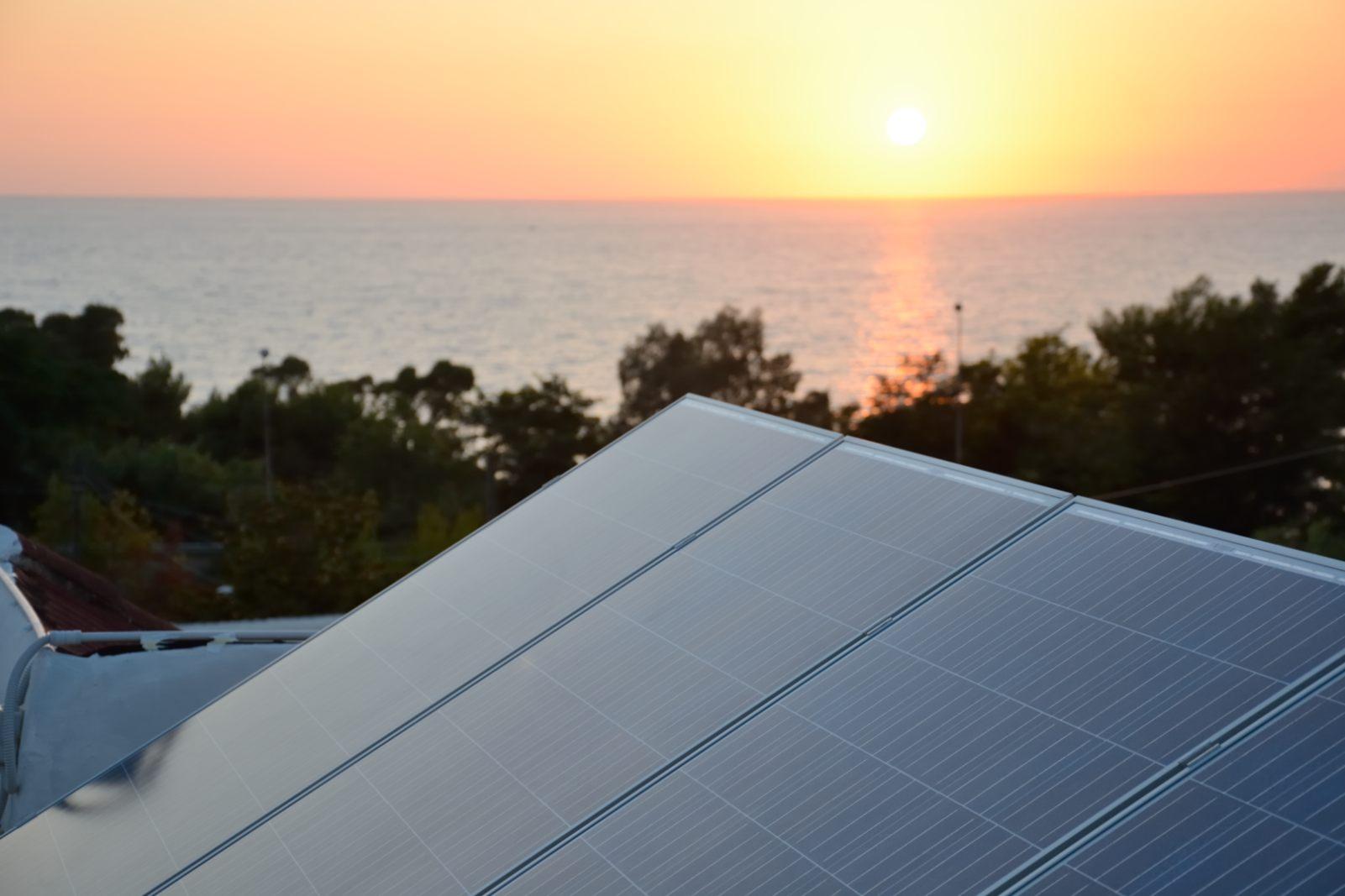 Impianto fotovoltaico progettato nel Cilento nel comune di Agropoli (SA)