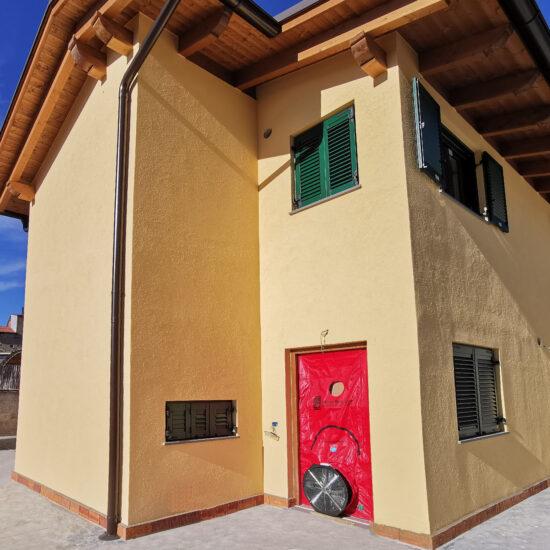 Blower Door - Test di Tenuta all'aria Certificazione CasaClima GOLD in Campania Salerno (Napoli Benevento Caserta Avellino)