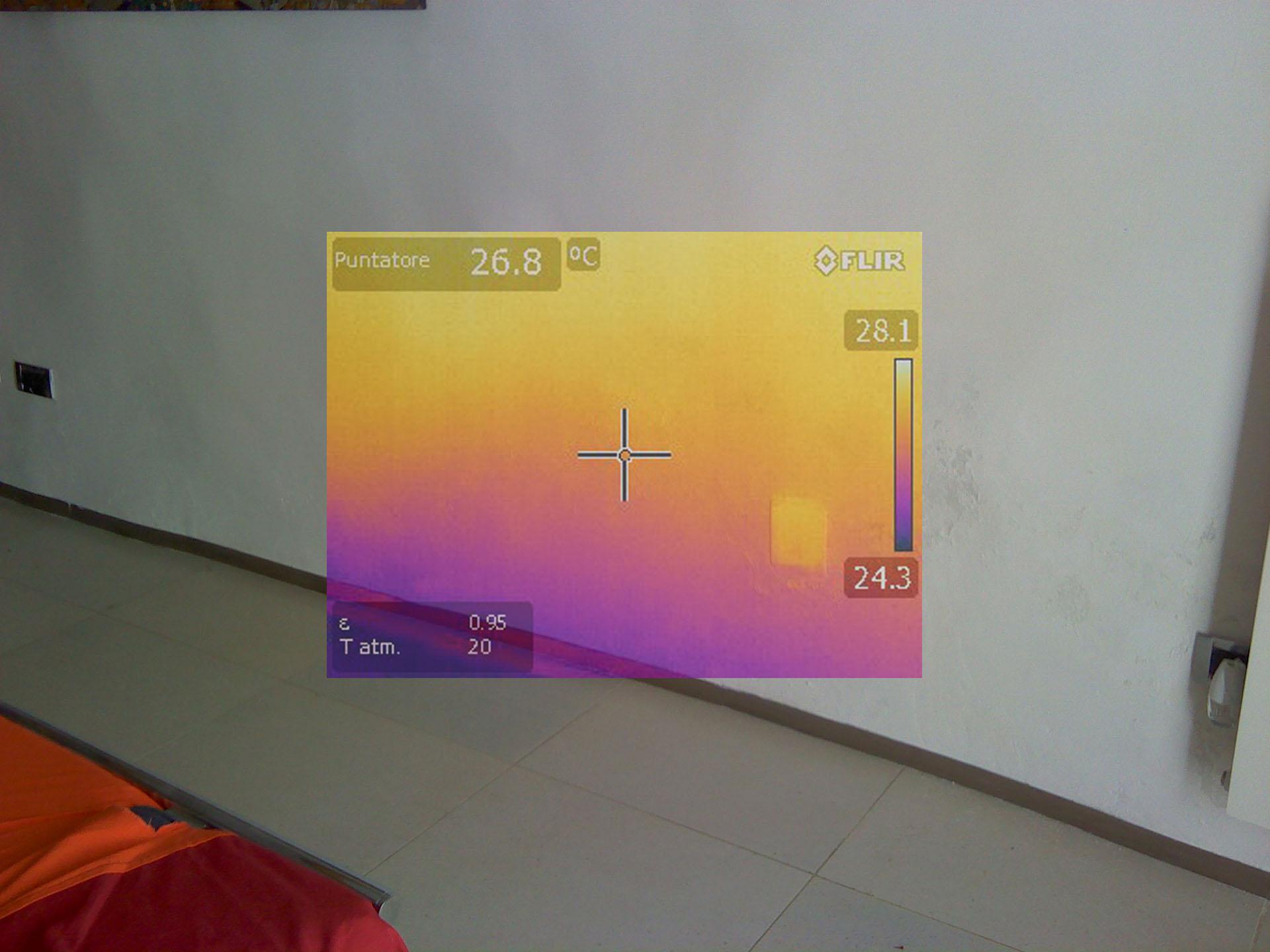 Diagnosi strumentale per umidit sulle pareti case for Risalita capillare